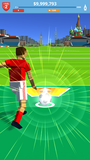بازی اندروید لگد فوتبال - Soccer Kick