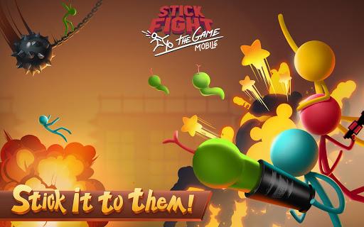 بازی اندروید مبارزه استیک - بازی سیار - Stick Fight: The Game Mobile