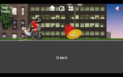 بازی اندروید موتور پرشی - Moto Wheelie 2