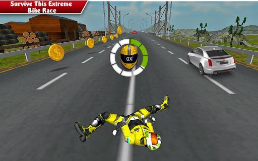 بازی اندروید مسابقه حمله با موتور سیکلت: - Moto Bike Attack Race 3d games