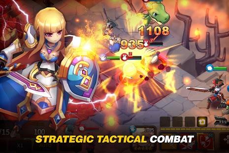 بازی اندروید تاکتیک جنگ فانتزی - Fantasy War Tactics
