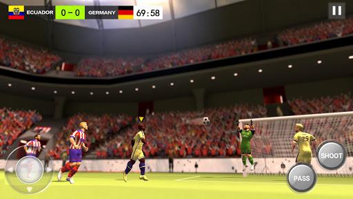 بازی اندروید قهرمان فوتبال - Football Hero - Dodge, pass, shoot and get scored
