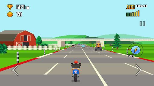 بازی اندروید بزرگراه - Retro Highway
