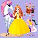 لباس شاهزاده - اسب سفید