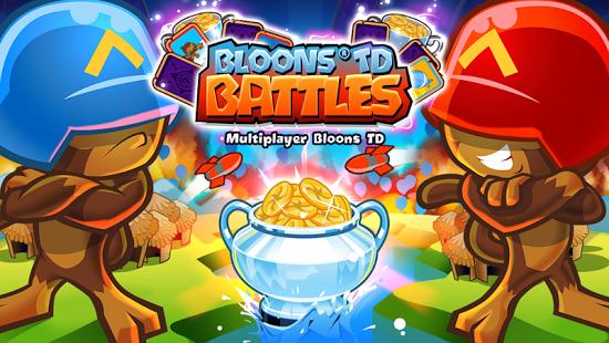 بازی اندروید نبرد میمون ها - Bloons TD Battles