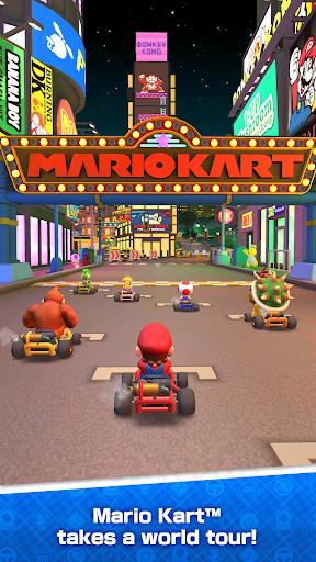 بازی اندروید تور ماریو کارت - Mario Kart Tour