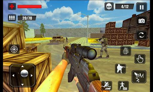 بازی اندروید ماموریت ضد تروریستی - Counter Terrorist Stealth Mission Battleground War