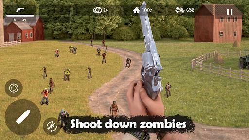 بازی اندروید مردگان متحرک - Dead Zed