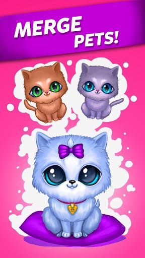 بازی اندروید ادغام حیوانات ناز - گربه و سگ - Merge Cute Animals: Cat & Dog