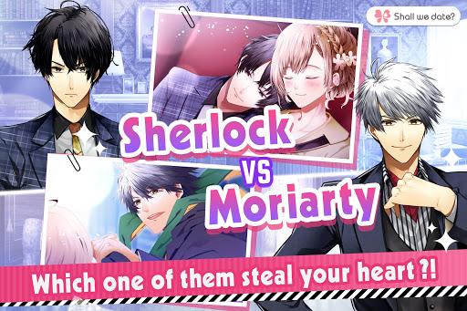 بازی اندروید داستان عاشقانه شرلوک هولمز - Guard me, Sherlock! / Shall we date?