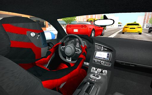 بازی اندروید مسابقات اتومبیل رانی - In Car Racing