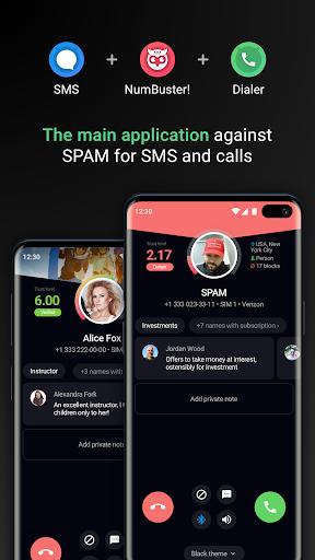 نرم افزار اندروید شناسایی تماس گیرنده - Who calls Caller name id, Safe calls SMS Blacklist