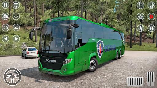 بازی اندروید حمل و نقل اتوبوس عمومی - Public Coach Bus Transport Parking Mania 2020
