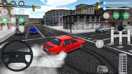 بازی اندروید پارکینگ اتومبیل - شبیه ساز رانندگی - Car Parking and Driving Simulator
