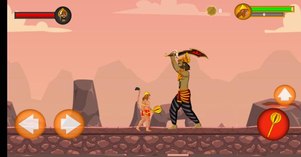 بازی اندروید ماجرای هانومان هندی - Hanuman Adventure