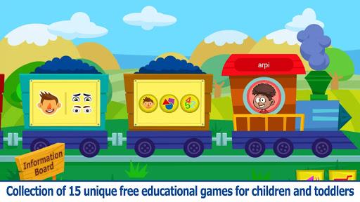 بازی اندروید قطار شادی - بازی های آموزشی رایگان کودکان - Happiness Train - Free Educational Games for Kids