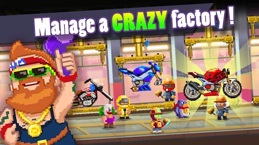 بازی اندروید کارخانه موتور سازی - Motor World: Bike Factory