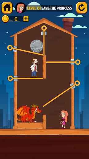بازی اندروید سنجاق خانگی - او را بیرون بکشید - چگونه غارت کنیم - Home Pin - Pull Him Out - How To Loot?