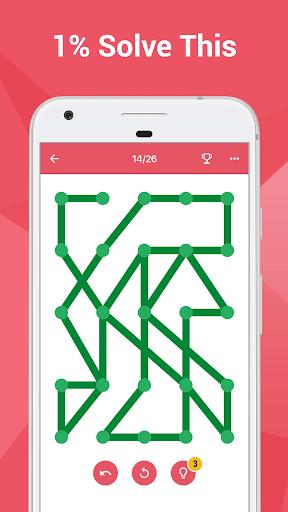 بازی اندروید یک خط با یک لمس - نقطه را متصل کنید - One Line with One Touch – connect the dots