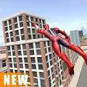 بازی طناب سوپر قهرمان عنکبوتی - جهان باز گانگستر شهر