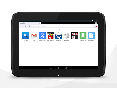 نرم افزار اندروید مرورگر اپرا - Opera browser