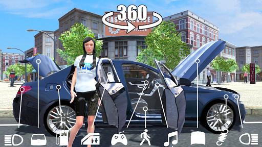 بازی اندروید شبیه ساز اتومبیل C63 - Car Simulator C63