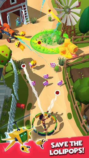 بازی اندروید دفاع آب نبات چوبی - Candy Patrol: Lollipop Defense