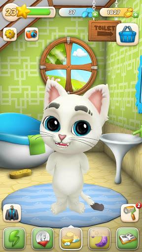 بازی اندروید گربه اسکار - حیوان خانگی مجازی - Oscar the Cat - Virtual Pet