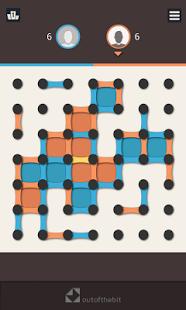 بازی اندروید نقطه و بسته - Dots and Boxes