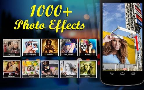 نرم افزار اندروید 1000 افکت عکس - 1000+photo effects