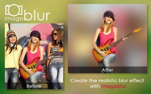 نرم افزار اندروید تاری پس زمینه - Blur Image Background