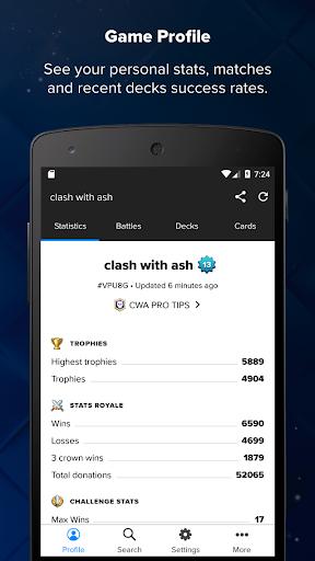 نرم افزار اندروید استس رویال - کلاش رویال - Stats Royale for Clash Royale