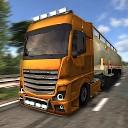 راننده کامیون اروپا