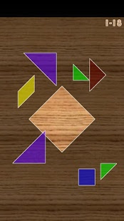 بازی اندروید تانگرام - فکری - Tangram Puzzle