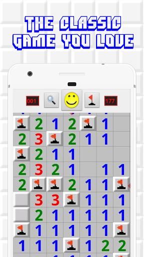 بازی اندروید معدن شناور - Minesweeper for Android - Free Mines Landmine Game