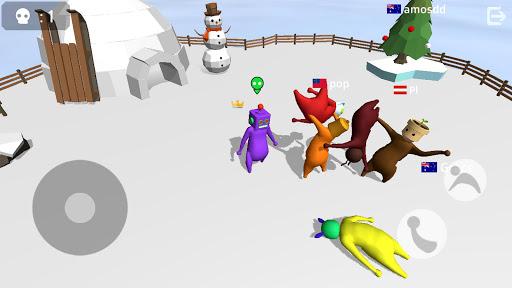 بازی اندروید مبارزه نودل - Noodleman.io - Fight Party Games