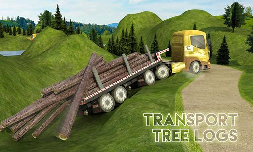 بازی اندروید کامیون های افسانه ای - Big Euro Truck Parking Legend: Truck Parking Games