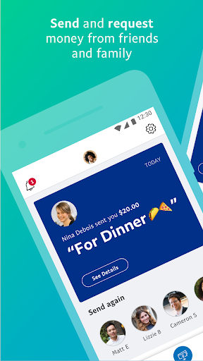 نرم افزار اندروید پی پال - PayPal Mobile Cash: Send and Request Money Fast