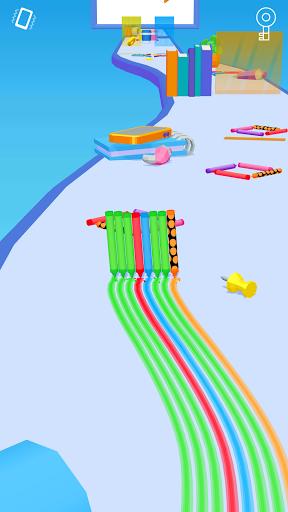 بازی اندروید حمله سه بعدی مداد - Pencil Rush 3D
