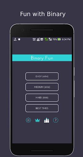 بازی اندروید دوتایی سرگرم کننده - بازی اعشار - Binary Fun™ Decimal Game