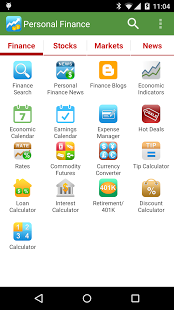 نرم افزار اندروید دارایی شخصی - Personal Finance