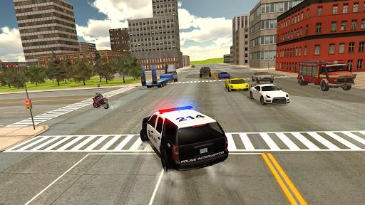 بازی اندروید شبیه ساز وظیفه اتومبیل پلیس - Cop Duty Police Car Simulator
