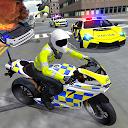بازی رانندگی خودرو پلیس - موتورسیکلت سواری