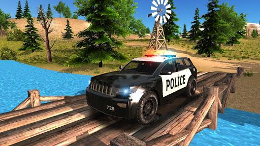 بازی اندروید رانندگی آفرود ماشین پلیس - Police Car Driving Offroad