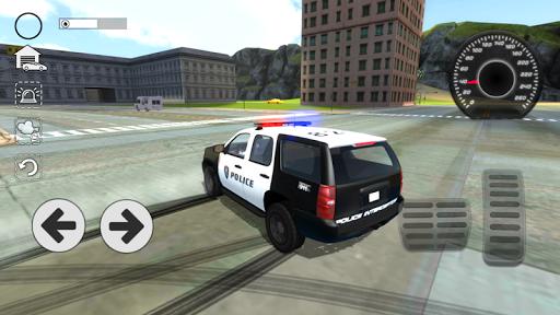 بازی اندروید شبیه ساز رانندگی پلیس - Police Car Drift Simulator