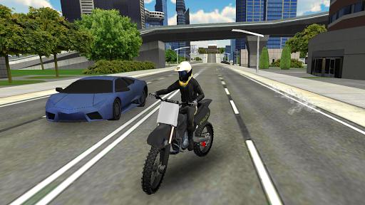 بازی اندروید شبیه ساز پلیس موتور سوار شهر - Police Bike City Simulator