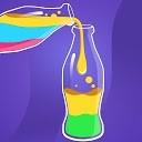 مرتب سازی پازل مایع - مرتب سازی بر اساس رنگ