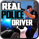 راننده ماشین پلیس واقعی