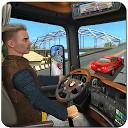 راننده کامیون بزرگراه ها