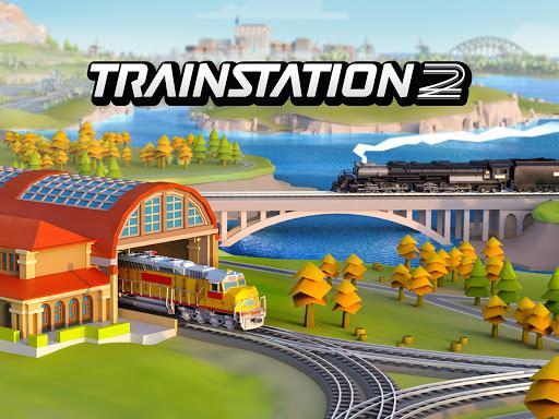 بازی اندروید ایستگاه قطار 2 - شبیه ساز واقعی سرمایه گذاری قطار - Train Station 2: Real Train Tycoon Simulator